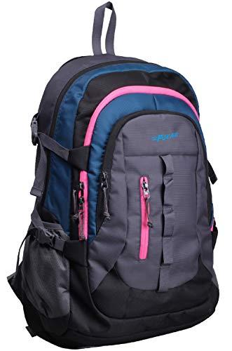 Best college bags for girl in flipkart in India 2020 F Gear Defender V2 45 Liters (Navy Blue, Pink) Rucksack Image 2