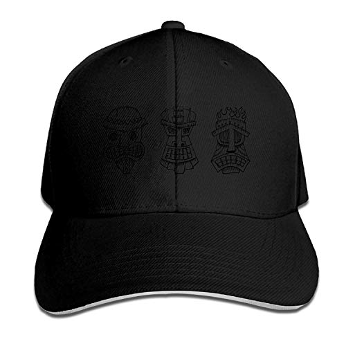 iki Herren Baseball Caps Unisex Sportswear Sandwich Peak Cap ()