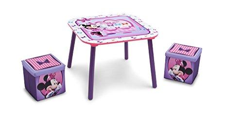 Set Tavolo E Sedie Minnie.Delta Children Disney Minnie Mouse Set Tavolo E Sgabelli