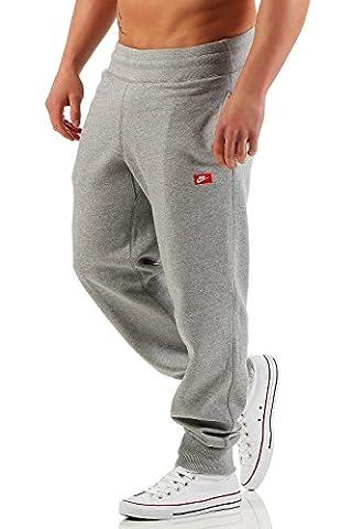 Nike Ace Fleece Cuffed Herren Trainingshose Farbe: Grau; Größe: