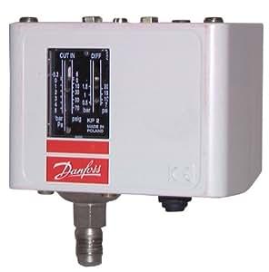 Danfoss - Pressostat pour réfrigerant - KP 1 - BP 60-110166