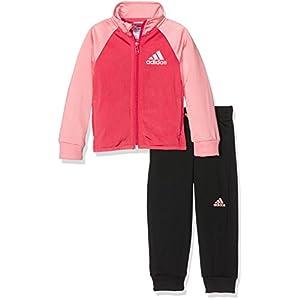 adidas YG S Entry TS – Traininganzug Mädchen, Mehrfarbig, Größe 170