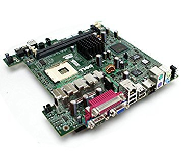 Original Dell 1u714 Optiplex SX260 USFF Ultra Small Form Factor Intel 845 G Sockel 478 DDR sddram Motherboard Logic Main System Board kompatibel Teilenummern: 1u714, 01u714 -