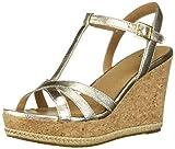Ugg Women's Melissa Metallic Platform Gold in Size 37