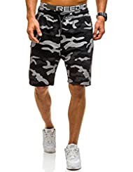 BOLF – Pantalons de sport – Pantalons courts – Homme 7G7 Motiv