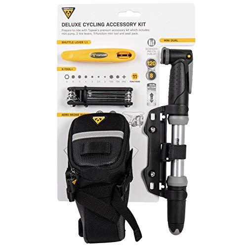 Topeak Unisex- Erwachsene Deluxe Accessory Kits, Mehrfarbig, One Size Deluxe Kit