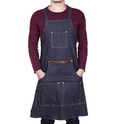 Everpert Jeans Denim - Delantales soldador taller
