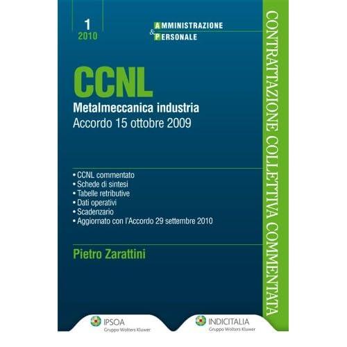 Ccnl Metalmeccanici Industria (Amministrazione & Personale)