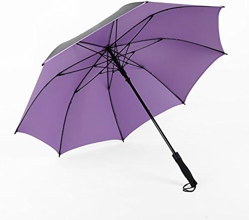 ZQ@QXIn gomma nera windproof uomini business sunscreen ombrello , , , Viola   finitura    Alla Moda  2140c5