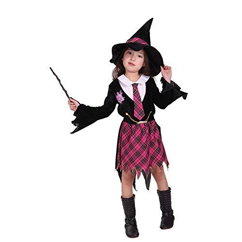 tmungsaktive Kleidung Fliegen Hexe Kind Magic Hexe Kostüm Damenbekleidung (größe : L) ()