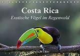 Costa Rica - Exotische Vögel im Regenwald (Tischkalender 2020 DIN A5 quer): Impressionen aus der Vogelwelt in Costa Rica (Monatskalender, 14 Seiten ) (CALVENDO Tiere) -