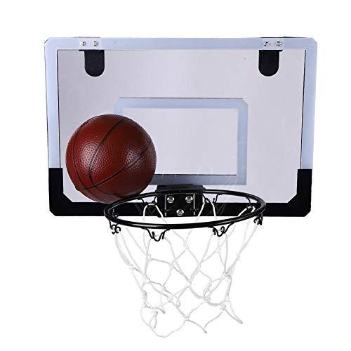 Alomejor Wandhalterung Basketballkorb Kit Mini Basketball System für Kinder Spielen Trainingsspielzeug Set