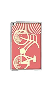 I Love My Bicycle Designer Mobile 2D Case/Cover For Apple iPad Mini 4