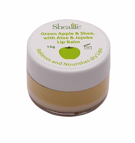 Green Apple & Shea con Aloe e olio di jojoba Lip Balm 15g