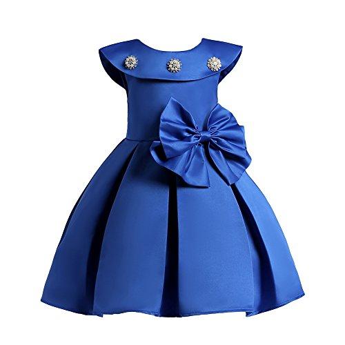 LZH Mädchen Kleid Party Hochzeit Besondere Prinzessin Festzug Kleider