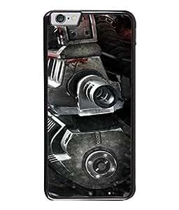 Fuson Designer Back Case Cover for Apple iPhone 6S (Machine Gun Heavy Bullet Fire Jawan Military )