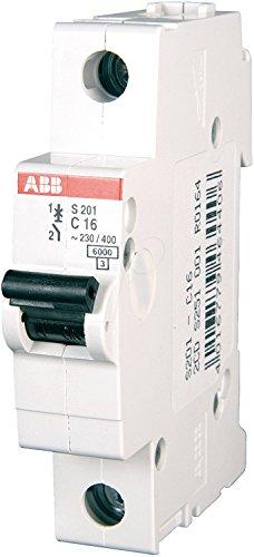 ABB Sicherungsautomat S 201-B 16 (3 Stück Leitungsschutzschalter)