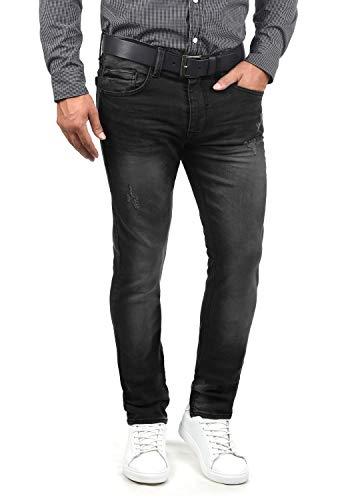 Blend Husao Herren Jeans Hose Denim Aus Stretch-Material Slim Fit, Größe:W34/32, Farbe:Denim Black (76204)