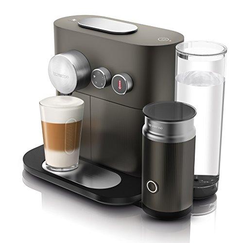 DeLonghi EN 355.GAE Nespresso Kaffeekapselmaschine (1,1 Liter, 2090 Watt, Bluetooth) grau
