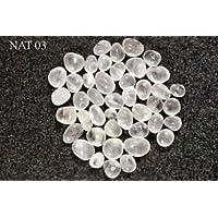 Schönes Set von sieben Natural Rock CLEAR Quarz Trommelsteine Leistungsstark Crystal Healing Wellness Positive... preisvergleich bei billige-tabletten.eu