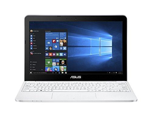 ASUS E200HA-FD0005T 11.6 inch Eeebook (Intel Atom Z8300, HD LED 1366 x 768 Screen, 2G, 32 GB, Windows 10, 802.11 AC Wi-Fi + BT 4.1) - White