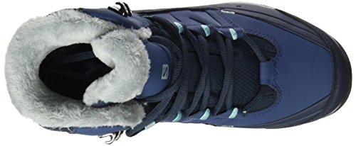 Salomon L39183900, Chaussures de Randonnée Femme Bleu