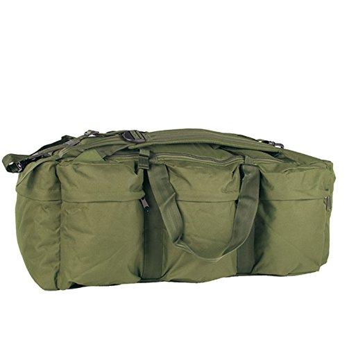 Mil-Tec - Zaino Tap da combattimento con tracolla, capacità 98 litri, Verde (oliva), 98 Liter Verde - oliva