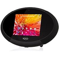 Xoro HMT 400 22,6 cm Internet-TV con Radio/Web Media Player (1,5 gHz Dual Core, 1 GB RAM, 8 GB interna memoria, Radio, Bluetooth 4,0, HDMI, DLNA, stazione meteo, androide 4,4) nero/bianco - Trova i prezzi più bassi su tvhomecinemaprezzi.eu