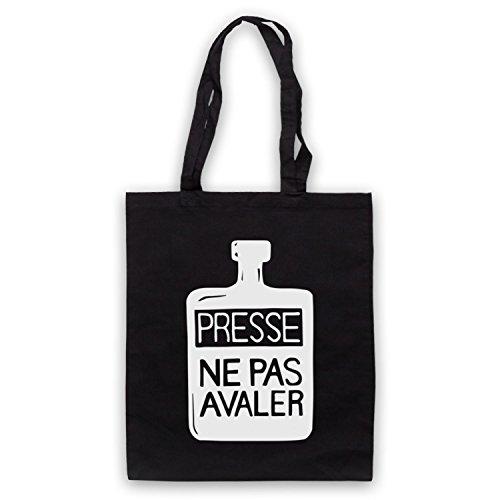 Inspiriert durch Presse Ne Pas Avaler As Worn By Thom Yorke Inoffiziell Umhangetaschen Schwarz