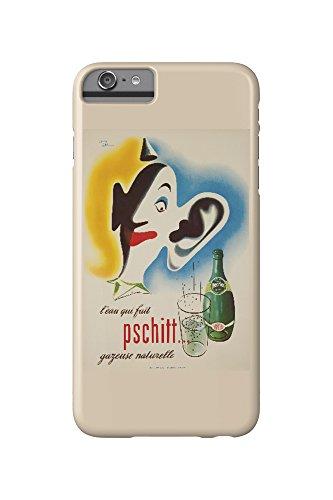 perrier-leau-qui-fait-pschitt-vintage-poster-artist-carlu-france-c-1949-iphone-6-plus-cell-phone-cas