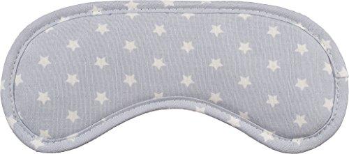 daydream A-1054 Premium-Schlafmasken mit Kühlkissen, 20 x 9 x 1, 5 cm, star grau