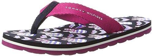 Tommy Hilfiger Mädchen M3285ARLOW 8D1 Zehentrenner, Pink