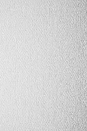 10 Blatt Weiß 220g Tonkarton einseitig strukturiert DIN A4 210x297 mm Prisma Bianco, ideal für Einladungen, Visitenkarten, Diplome, zum Zeichnen, Basteln und Dekorieren