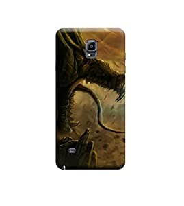 EPICCASE Premium Printed Mobile Back Case Cover With Full protection For Samsung Galaxy Note 4 (Designer Case)
