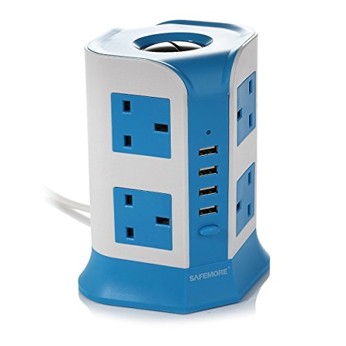 safemore-13-a-2-m-8-gang-extension-lead-4-usb-charging-ports-socket-adaptor-uk-plug-power-strip-with