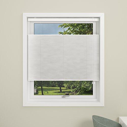 debel Touch Split Store plissé, Blanc, 60 cm x 160 cm