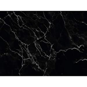 PrintYourHome Fliesenaufkleber für Küche und Bad | Dekor Marmor Schwarz | Fliesenfolie für 15x20cm Fliesen | 72 Stück | Klebefliesen günstig in 1A Qualität
