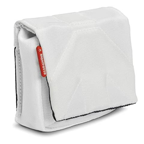 Manfrotto Nano I Stile - Pochette pour Appareil Photo Compact - Blanc