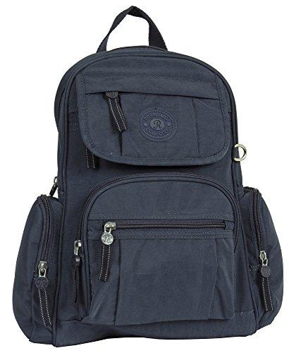 Big Handbag Shop, Borsa a zainetto donna Design 1 - Navy