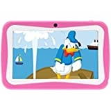 """PoGo 7"""" Android 4.0 Tablet PC For Kids Children A13 1.2GHz 4GB Dual Cam- (Pink)"""