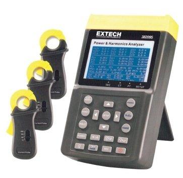 Power Quality Meter Analyzer (Extech 382095220V 1000A 3-Phasen Power und harmonischen Analysegerät)