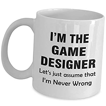 Game Developer Mug - Lets Just Assume Im Never ...