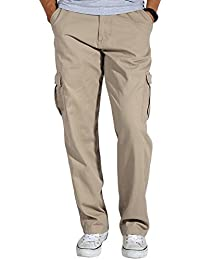 Match Men's Casual Cargo Trousers #6039