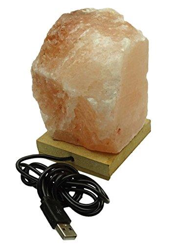 Natürliche Himalayan Kristallsteinsalz Lampe Energize Luftreiniger ionisieren Home Decor (Salz-kristall-lampe Natürliche)