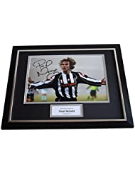8db12646128 Sportagraphs Pavel Nedved SIGNED FRAMED Photo Autograph 16x12 display  Juventus AFTAL   COA PERFECT GIFT
