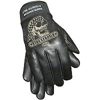 King Kerosin Gas Grass & Ass Handschuhe Lederhandschuhe