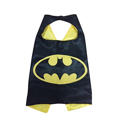 KeepworthSourcing, 55 x 70 cm, Motiv Superhero Regenmäntel für Kinder, Batman-Motiv, Geschenk
