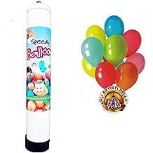 GAS de la bombona de helio desechables para inflado 15 globos para fiestas de cumpleaños party