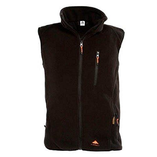 Alpenheat Fire-Fleece schwarze Beheizte Fleece Weste Weste zum Drunterziehen, AJ4