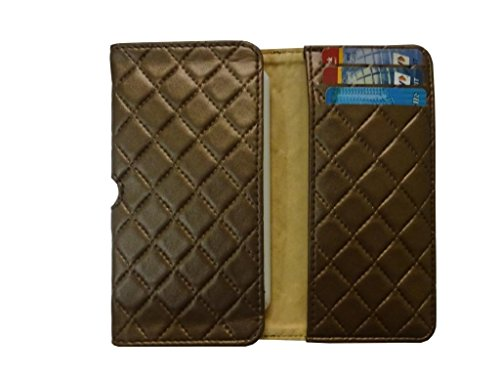 Atv Pu leather Pouch Case Flip Cover For Samsung Galaxy J1 Nxt(Dark Golden Rod)